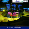 Exhibición de LED de alquiler a todo color de interior del vídeo de HD P4 SMD