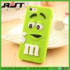 caja del teléfono celular del silicón de la historieta 3D para el iPhone 6/6s (RJT-A082)
