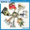 Neuester fördernder heißer Verkauf kundenspezifisches hölzernes Keychain