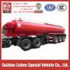 Tri-Axle 30-50cbm Edelstahl Fuel Tanker Semi Trailer
