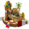 Mini campo de jogos internos modulares modernos dos miúdos para o restaurante