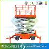 Сертификация CE 6м высоты Hudraulic мини подъемный стол ножничного типа