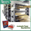 Máquina de fabricação de sacos de papel totalmente Kraft de cimento Kraft (ZT9804 e HD4913)