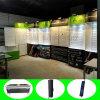 3*6*4m подгоняли портативную Eco-Friendly подобную будочку выставки для торговой выставки с панелями Slatwall