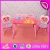 최신 Sale Kids Writing Table 및 Preschool, High Quality Kids Furniture Wooden Table 및 Chair Set W08g150를 위한 Chair