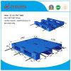 plataforma Rackable Plastic Pallet de 1200*1000*150mm Flat Heavy