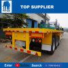 Titan-Fahrzeug - 20 Fuss-Flachbettplattform-Schlussteil für Verkauf