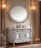 Governo di stanza da bagno di legno solido dello specchio classico di disegno moderno (LZ-134)