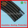 Los cinturones de seguridad empaquetaron el tubo claro del encogimiento del calor