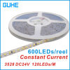 SMD3528-120LEDs/M LED Flexible Strip 9.6W/M (IP20 또는 IP65)