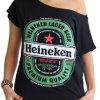 T-shirt personnalisé à manches courtes à manches sexy à la mode (TS229W)
