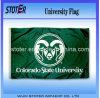 Государственный университет Колорадо трамбует флаг
