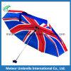 Paraguas impreso bandera de Reino Unido en 3 dobleces mini