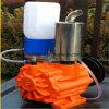 La máquina de ordeño de la vaca lechera de la bomba de aire vacío
