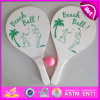 2015年のWoodenのための熱いNew Product Beach Racket Set、Summer Sports Game Beach Paddle、Beach Rackets、1 Ball W01A112の2PCS Racket
