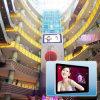 Singola versione che fa pubblicità all'uso dell'interno fissato al muro della visualizzazione di LED della macchina