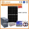 10kw libre et hors réseau en continu l'énergie solaire Système avec Approbation CE