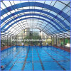 Tampa UV da piscina de policarbonato virgem de 100%