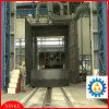 大きい部品の回転式表または回転盤のショットブラスト機械
