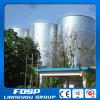 Silo de armazenamento de alimentação de gado de grande capacidade para milho com transportadores de alta eficiência