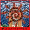 休日の軽い人工的なクリスマスの装飾のハングの花輪ライト