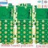 6層HDIの緑オイルPCBの多層堅いプリント基板