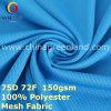 Tessuto di maglia di lavoro a maglia del poliestere per la camicia del vestito di pallacanestro (GLLML401)