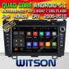GPS van 5.1 Auto DVD van Witson Androïde voor Honda CRV 2006-2010 met de Steun van ROM WiFi 3G Internet DVR van Chipset 1080P 16g (A5789)