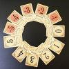 Het Document van het Werk van de Klok van het Dek van de douane/Plastic Speelkaarten