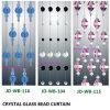 Het kleurrijke Gordijn Decoartion van de Zaal van de Parel van het Kristal Ruimte