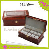 Pillows를 가진 개인화된 Luxury Funky Wooden Watch Box
