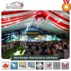 Tenda trasparente decorata della festa nuziale della tenda di eventi di 60m - di 20 con la tenda del rivestimento