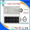 La vente 8W 10W 15W 20W 25W 30W 40W 60W de constructeur directement a intégré tous dans un réverbère solaire de DEL