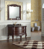 Cabinet de toilette classique en salle solide (LZ-138)