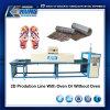 2D Linha de produção 1.5m/1.85m/4.5m da máquina da impressão de transferência da película