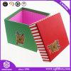 مربّعة بسيطة عالة طباعة ورق مقوّى يعبّئ صندوق لأنّ عيد ميلاد المسيح