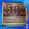 HSS метрических/дюйм шпоночный паз протяжные набор инструментов с втулкой