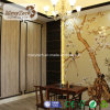 Painel de parede impermeável do interior WPC da instalação fácil asiática do estilo