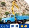 Constructeur de grue/grue de camion montés mini par camion