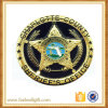 Medalla redonda del metal de encargo más nuevo 2017 con insignia