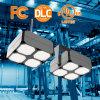 2017 nueva luz del cuadrado LED Highbay, 140lm/W, 0-10V Dimmable