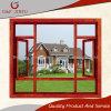 La madera aluminio buscando Casement ventana con doble acristalamiento
