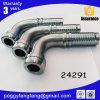24291 Orfs/Unf Slitta-Indietro il montaggio femminile del capezzolo del tubo flessibile del gomito della noce