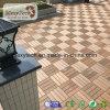 O composto de plástico de madeira à prova do intertravamento DIY WPC Mosaico Deck para uso doméstico