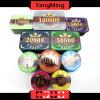 O plástico de Póquer Texas 760 PCS Chip Set França Casino Acrílico Chips dedicados (YM-FOCP004)