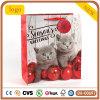 Papierbeutel, Weihnachtsbaby-Katze-Papierbeutel, Geschenk-Papierbeutel