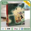Sacs en papier enduits de cadeau d'art de type chinois d'enfants