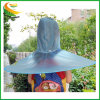 Novo Design UFO Raincoat Dobrável Poncho Headwear Hat para andar de Golfe de Pesca