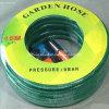 Tuyau de jardin tressé renforcé flexible de l'eau de fibre de PVC 1/2