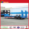 Axles dobro Lowbed Truck Semi Trailer com Air Suspension